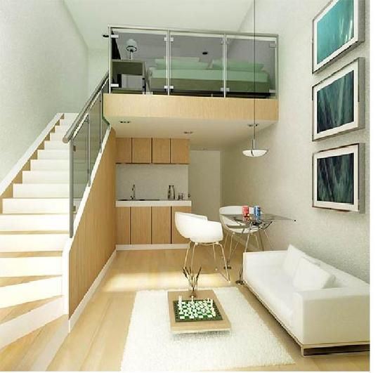 Grand soho makati 1br loft ready for occupancy 1br 2br for Design 1 bedroom condo